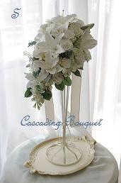 大分のお花のサロン(DECOクレイフラワー)                 Bouquet de Mariee-Satoko