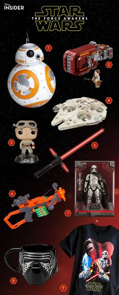 On September 4, the first Star Wars merchandise from Star Wars: The Force Awakens showed up on retailers' shelves and it was an event that rivaled the size and scale of most actual movie openings. And now that the stardust has settled and our hauls have been hauled, we thought we would rundown our ten favorite items from Force Friday. #bb-8 #spherobb8 #bb8 #starwars #friki