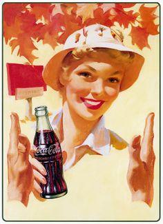 mini quadros coca cola vintage | Telo Telas | Elo7