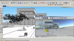 Doing tricks to have both hdri sky and vray sun in a scene on sketchup - Haciendo virguerías para tener un mapa hdri de iluminacion de ambiente mas el sol en sketchup  //  V-Ray for SketchUp - How to use HDRI and sun settings - tutorial
