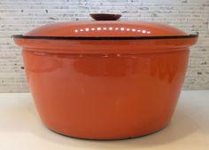 Grete Prytz Kittelsen Catherineholm Orange Huge Enamel Pan by danishmaude on Etsy https://www.etsy.com/listing/231207729/grete-prytz-kittelsen-catherineholm