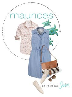 """""""maurices Contest: Summer Lovin'"""" by renatademarchi ❤ liked on Polyvore featuring maurices"""