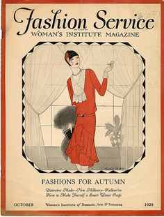 Fashion Service, October 1928