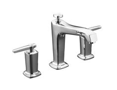 kohler margaux bath faucet trim only in polished chrome finish made from solid brass with a finish designed to resist corrosion and tarnishing