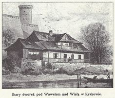 Krakow, Planet Earth, Poland, Planets, Old Things, Manor Houses, St Francis, Black And White, Building