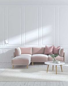 61 Scandinavian Furniture Designs to Give Your Interior Cozy Nordic Charm Mid Century Sectional, Mid Century Modern Sofa, Sofa Furniture, Living Room Furniture, Furniture Design, Modern Sectional, Sectional Sofa, Best Sectionals, Custom Sofa