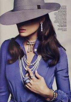 opaqueglitter:    Credit:Vogue Russia  fashionone.com