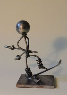 """Buy """"Skier"""", Sculpture by Sonya Radeva on Artfinder. Discover thousands of other original paintings, prints, sculptures and photography from independent artists. Small Sculptures, Original Paintings, Table Lamp, Artists, Photography, Stuff To Buy, Home Decor, Ski, Sculptures"""