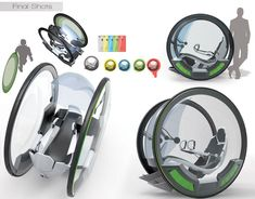 USF : Ultra Small Footprint Vehicle by Alex Langensiepen for GenZe by Mahindra