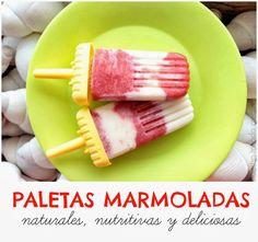 Paletas %100 naturales con sólo 3 ingredientes | #Artividades