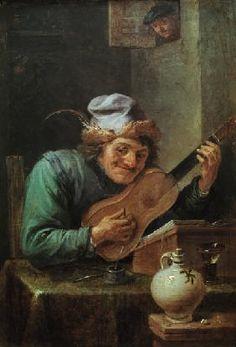 David Teniers - David Teniers II - Der Gitarrenspieler