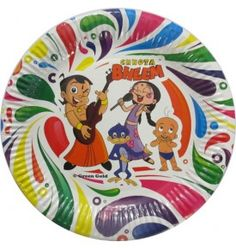Chhota Bheem Party Plates (Pack of 10)
