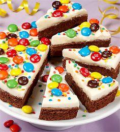 Birthday Brownie Cake Kings School Treat With My Twist Layer The Brownies So