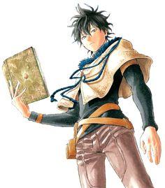 Yuno holder of the 4 Leaf Clover Grimoire Member of the Golden Dawn Black Clover Wiki, Black Clover Asta, Black Clover Anime, Otaku Anime, Manga Anime, Anime Art, Yuno Anime, Clover Manga, Cool Anime Guys