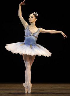 Tamara Rojo of the Royal Ballet performs at the Grand Theater of Havana