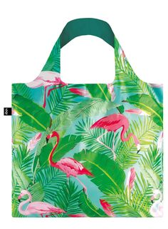 Graphic Giraffes. Fabulous flamingos. Zigzags of zebras. Wander with eyes wide open into the wonderful world of the #WILD collection with the #Flamingos tote bag.