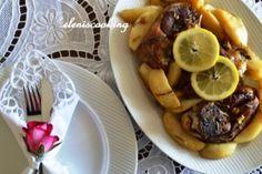 Αρνάκι με Πατάτες στη Γάστρα   Είμαστε Γυναίκες   Το απόλυτο γυναικείο περιοδικό Beef, Recipes, Food, Meat, Essen, Meals, Ripped Recipes, Yemek, Eten