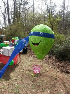 This pinata cost about .50 cents to make, I did put extra layers of news paper on it to make it sturdy, I'm glad because everyone got to hit it about 4 times before it broke