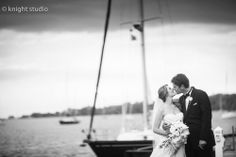 Buffalo NY Wedding photography | www.knightstudio.com | Jenica Knight- LOVE the mood of this shot... from the almost storm to the almost kiss, so romantic!