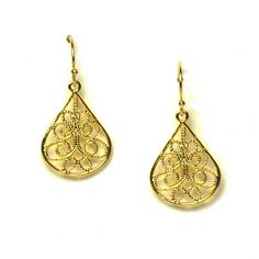 Single Filigree Earring
