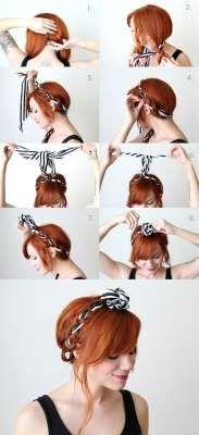 foulard tresse pinterest princesse foulard