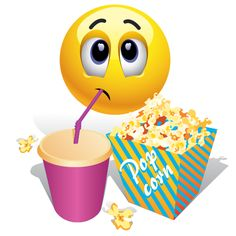 If u are watching a very interesting in a multiplex eating the snacks then your expression would be just like this smiley Silly Faces, Funny Faces, Smiley T Shirt, Happy Birthday To You, Smiley Emoticon, Funny Smiley, Tweety, Funny Emoticons, Emoji Symbols