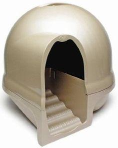 Amazon.com: Petmate 50021 Booda Dome Clean Step Litter Box: Pet Supplies