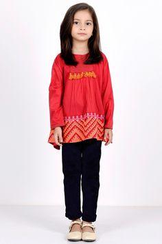 Khaadi -  Embroidered Blouse - Kids