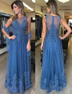 Modest Prom Dresses,Sexy New Prom Dresses,Applique Prom Dresses,Zipper Prom Dresses,A-Line Floor Length Evening Dresses,Sleeveless Prom Dresses,Elegant Tulle Prom Dresses,Formal Dresses