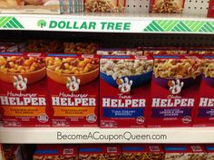 Dollar Tree: Hamburger, Tuna and Chicken Helper Meals Only $0.50!