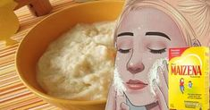 Say Goodbye to Wrinkles And Stains Using only Cornstarch Mask With Botox Effect - Super Multi Magazine Facial Tips, Facial Care, Best Anti Aging Creams, Anti Aging Tips, Home Remedies, Natural Remedies, Masque Anti Ride, Corn Starch, Spa Day