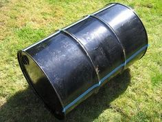 How to Build Your Own BBQ Barrel : 5 Steps (with Pictures) - Instructables Barrel Smoker, Barrel Grill, Oil Barrel, 55 Gallon Drum Smoker, Bbq Grill Diy, Terrarium Design, Food Grade Barrels, Oil Drum Bbq, How To Make Barbecue