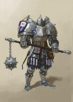 ArtStation - knight, hogoul kim