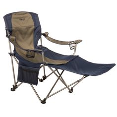 Kamp-Rite Chair with Detachable Ottoman