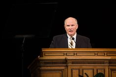 """Elder Dale G. Renlund of the First Quorum of the Seventy addressed students aboutconstructing spiritual stability at the first Tuesday Devotional of the Fall 2014 Semester on Sept. 16. Elder Renlund likened the little-known tragic story of the Swedish ship """"Vasa"""" to theability to live a spiritually stable life that will enable oneto successfully navigate…"""