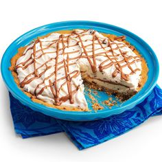 Chocolate Chip Ice Cream Pie Recipe -I got the recipe for this pie from my mom, but I changed the crust to cookie dough. Because the crust will harden after being frozen, dip a knife in hot water first, wipe the knife off and then cut. Repeat the process if needed. —Letitia Landis, Rochester, Indiana