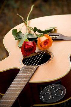 Roses and Guitar