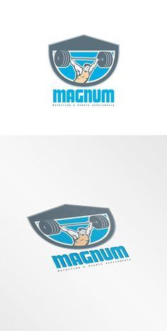Magnum Nutrition and Sports Suppleme by patrimonio on @creativemarket