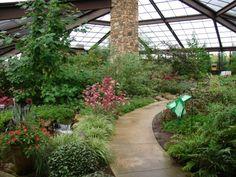 Butterfly House. Huntsville Botanical Gardens.