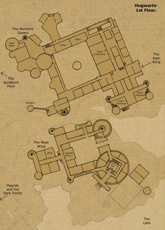Hogwarts Castle Floor Plan | ... saw it s certain that it has more than 1 floor hogwarts first floor