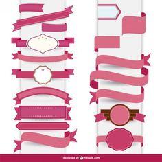 20 Free Modern Ribbon Vectors, http://designeroptimus.com/ribbon-vectors/  Check more at http://designeroptimus.com/ribbon-vectors/