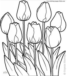 tulip embroidery
