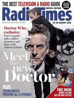 Doctor Who Cover - Radio Times Digital Edition August 23-29 2014