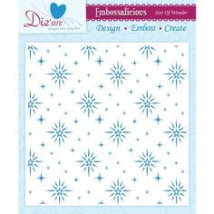 $10.23 Prime @ Amazon Crafter's Companion Embossalicious Embossing Folders, 8 by 8-Inch, Star of Wonder Crafter's Companion http://www.amazon.com/dp/B00DV6DEZS/ref=cm_sw_r_pi_dp_pgRFub192MK25