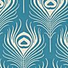 really like this!!  PLUME - THOMAS PAUL - PEACOCK - Aqua/Teal - Shop By Color - Fabric - Calico Corners