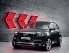 For those who don't like to use the reverse gear. #Audi Q7