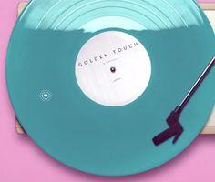 dezeen:  Golden Touch music video revolves around the viewer's fingertip »