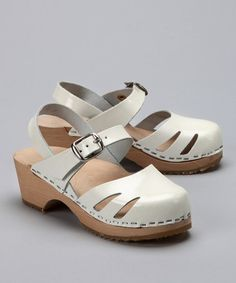 Another great find on #zulily! Snow White Patent Leather Sandal - Kids by Cape Clogs #zulilyfinds