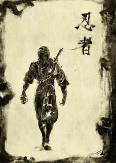 Black Shinobi by *scabrouspencil on deviantART