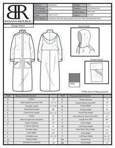 Banana Republic on Behance specification sheet fashion design Banana Republic Flat Sketches, Dress Sketches, Fashion Design Portfolio, Fashion Design Sketches, Banana Republic, Cost Sheet, Size 12 Fashion, Motifs Textiles, Fashion Vector